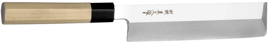 TO-KK-240, Kakugata Usuba Knife – nóż Kakugata Usuba, ostrze 240mm TO-KK-225, Kakugata Usuba Knife – nóż Kakugata Usuba, ostrze 225mm (na zdjęciu) Nóż do warzyw o prostokątnym czubku.