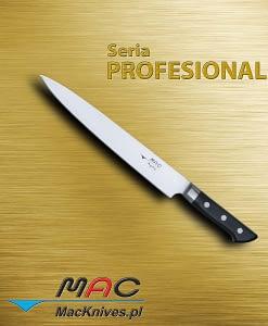 Slicer – nóż do krojenia. Ostrze 260 mm Profesjonalny nóż do krojenia i filetowania.
