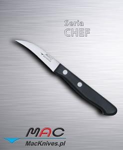 """Paring Knife – nóż do obierania. Ostrze 65 mm Nóż z """"ptasim dziobem"""" do czyszczenia i obierania owoców i warzyw."""