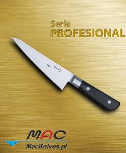 Japanese style boning knife – profesjonalny japoński nóż do trybowania. Ostrze 155 mm Spiczasty nóż do wykrawania kości, idealny do uzyskania całego mięsa z kurczaka.