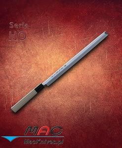 Takobiki Knife – nóż Takobiki. Nóż do krojenia o prostokątnym czubku. Ostrze 300 mm