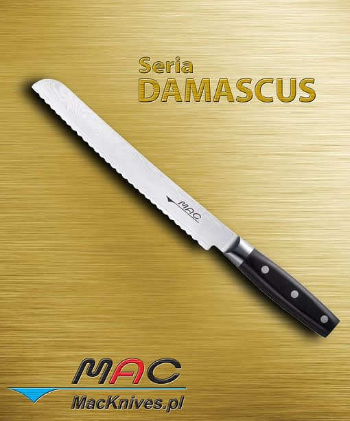 Bread Knife – nóż do chleba. Ostrze 230 mm Ząbkowany nóż do pieczywa, pieczonych mięs i twardych owoców (np. ananasów).