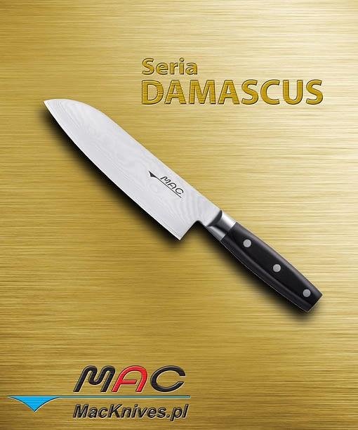 Santoku Knife – noż Santoku. Ostrze 180 mm Wszechstronny nóż Santoku do krojenia, cięcia, szatkowania, siekania, kostkowania, itp. Nóż z przeznaczeniem do mięsa, ryb i warzyw.