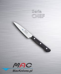 Lekki i ostry nóż do obierania. Ostrze 100 mm