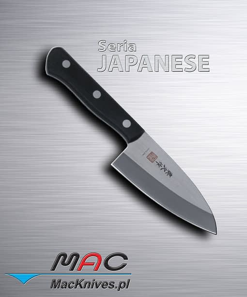 Japanese Deba Cleaver Knife – japoński tasak Deba. Ciężki tasak do cięcia ryb i kości. Ostrze 110 mm.