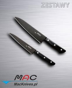 Zestaw noży kuchennych z serii Black 2 szt. BF-HB-70 BF-HB-55