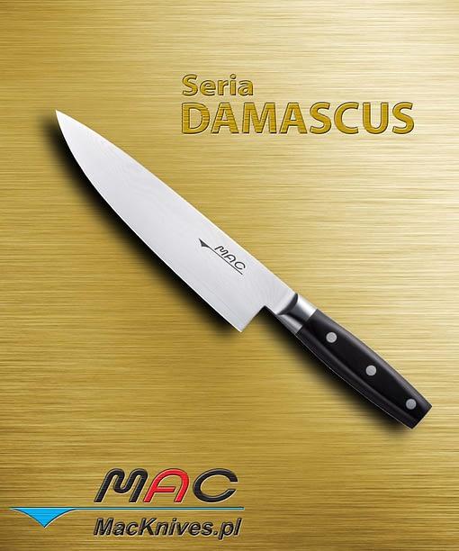 Chef Knife – nóż szefa kuchni. Ostrze 200 mm Nóż szefa kuchni do wszechstronnego wykorzystania.