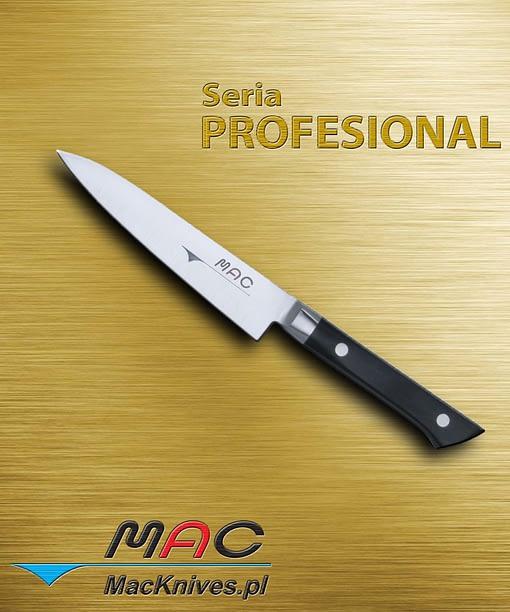Paring Knife – nóż do obierania. Ostrze 125 mm Spiczasty ostry nóż do zdzierania i obierania. Bardzo wygodny w użyciu.