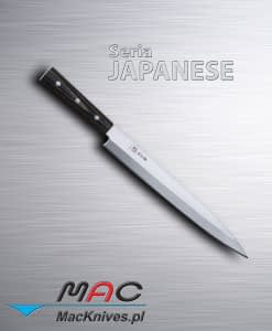 Sashimi Knife – nóż do sashimi. Nóż do filetowania i krojenia ryb. Ostrze 270 mm.