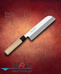 Nóż Kamagata Usuba. Nóż do warzyw o zaokrąglonym końcu. Ostrze 210 mm