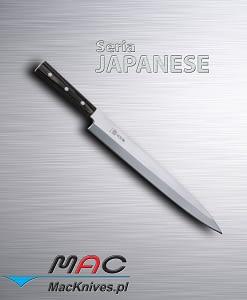 Sashimi Knife – kuchenny nóż do sashimi. Nóż do filetowania i krojenia ryb. Ostrze 300 mm.