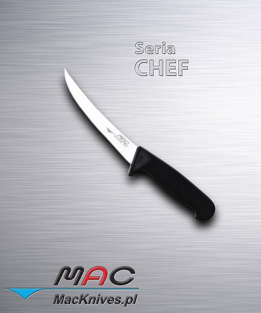 Bonning Knife – nóż rzeźniczy. Ostrze 155 mm Dobrze wyważony nóż oskórowania, filetowania i najtrudniejszych prac rzeźniczych.